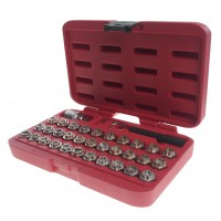 JTC-6747 Набор головок для секретных болтов 35 предметов (MERCEDES)