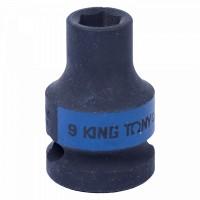 Головка торцевая ударная шестигранная 1/2 09 мм KING TONY 453509M