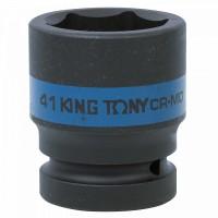 Головка торцевая ударная шестигранная 1 41 мм KING TONY 853541M