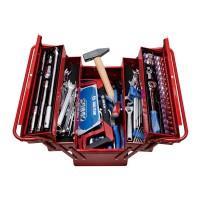 Набор инструментов универсальный раскладной ящик 88 предметов KING TONY 902-089MR01