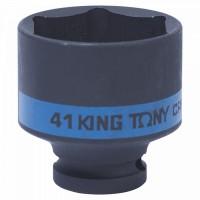 Головка торцевая ударная шестигранная 1/2 41 мм KING TONY 453541M
