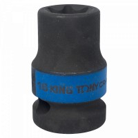 Головка торцевая ударная TORX Е-стандарт 1/2 E16 L = 38 мм KING TONY 457516M