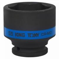 Головка торцевая ударная шестигранная 3/4 55 мм KING TONY 653555M