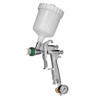 Краскопульт низкого давления Slim S HVLP Top Line сопло 13 мм верхний бачок кейс WALCOM 1006013
