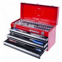 Набор инструментов универсальный выдвижной ящик 69 предметов KING TONY 901-069MR01