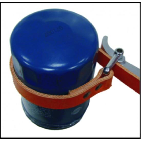 JTC-4735 Съемник фильтров масляных 30-160мм 560мм ременный