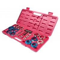 JTC-4901 Набор инструментов для демонтажа сальников коленвала 27-58мм 20 предметов в кейсе