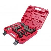 JTC-4931 Набор инструментов для фиксации распредвала VW Transporter, Touareg (цепь) 8 предметов (кейс)