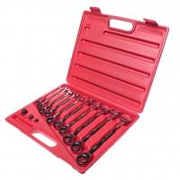 JTC-3028 Набор ключей комбинированных трещоточных 8-19мм 13 предметов в кейсе