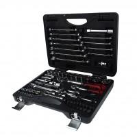 JTC-H085C-B72 Набор инструментов 85 предметов слесарно-монтажный 1/4, 1/2 в кейсе