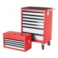 JTC-3931+3011 Шкаф инструментальный подкатной 7 секций с ящиком-3011