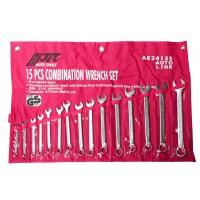JTC-AE2415S Набор ключей комбинированных 6-21мм 15 предметов в сумке