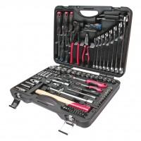 JTC-H090C-B72 Набор инструментов 90 предметов слесарно-монтажный 1/4, 1/2 в кейсе