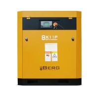 Винтовой компрессор с ременным приводом BERG ВК-11Р, давление 12 бар
