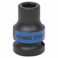 Головка торцевая ударная шестигранная 1/2 10 мм KING TONY 453510M