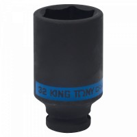 Головка торцевая ударная глубокая шестигранная 1/2 32 мм KING TONY 443532M