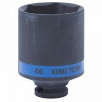 Головка торцевая ударная глубокая шестигранная 1/2 46 мм KING TONY 443546M