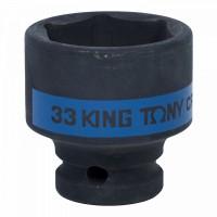 Головка торцевая ударная шестигранная 1/2 33 мм KING TONY 453533M