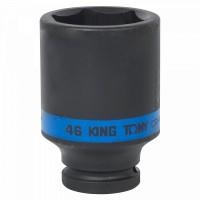 Головка торцевая ударная глубокая шестигранная 3/4 46 мм KING TONY 643546M