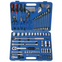 Набор инструментов универсальный дюймовый 85 предметов KING TONY 7085SR