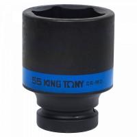 Головка торцевая ударная глубокая шестигранная 1 55 мм KING TONY 843555M