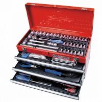 Набор инструментов универсальный выдвижной ящик 73 предмета KING TONY 901-073MR