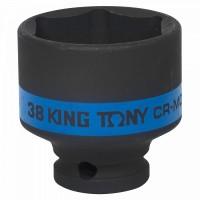 Головка торцевая ударная шестигранная 1/2 38 мм KING TONY 453538M