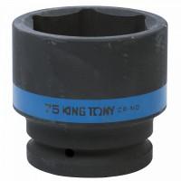 Головка торцевая ударная шестигранная 1 75 мм KING TONY 853575M
