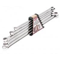 JTC-3219S Набор ключей накидных 10-21мм удлиненных 12-ти гранных 6 предметов