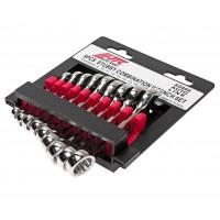 JTC-AD09S Набор ключей комбинированных 8-17мм укороченных 9 предметов