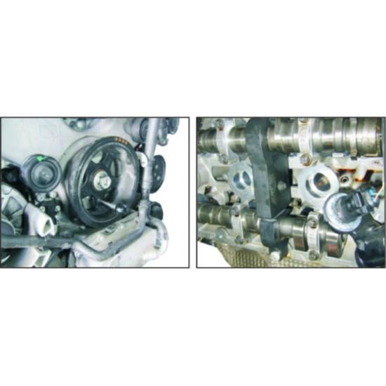 JTC-4156A Набор фиксаторов распредвала для установки фаз ГРМ (PORSCHE Cayenne 4.5/4.8 V8, Panamera 3.6 V6)