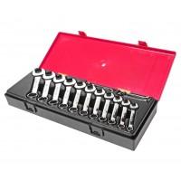 JTC-K6143 Набор ключей комбинированных 6-19мм укороченных 14 предметов в кейсе
