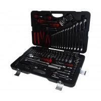 JTC-H145C Набор инструментов 145 предметов слесарно-монтажный 1/4, 1/2 в кейсе