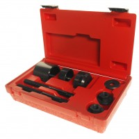 JTC-4650 Набор инструментов для демонтажа/монтажа сайлентблоков подвески задней (OPEL) в кейсе