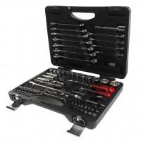 JTC-T085C-B72 Набор инструментов 85 предметов слесарно-монтажный 1/4, 1/2 12-ти гран. в кейсе