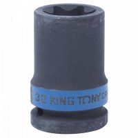 Головка торцевая ударная TORX Е-стандарт 3/4 E32 L = 56 мм KING TONY 657532M