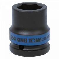 Головка торцевая ударная шестигранная 3/4 24 мм KING TONY 653524M