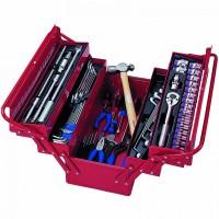 Набор инструментов универсальный раскладной ящик 65 предметов KING TONY 902-065MR01