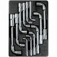 Набор торцевых ключей L-образных ложемент 12 предметов KING TONY 9-1812MR