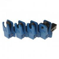 Набор заглушек для патрубков с металлическими наконечниками 4 предмета МАСТАК 102-10004