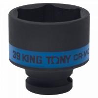Головка торцевая ударная шестигранная 1/2 39 мм KING TONY 453539M