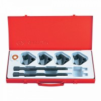 Набор для стяжки пружин амортизатора 85-270 мм кованые крюки 6 предметов KING TONY 9BF21