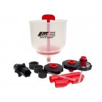 JTC-7810 Набор для заправки охлаждающей жидкости с универсальными адаптерами
