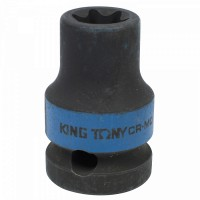 Головка торцевая ударная глубокая TORX Е-стандарт 3/4 E22 L = 110 мм KING TONY 647522M