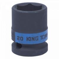 Головка торцевая ударная шестигранная 1/2 20 мм KING TONY 453520M