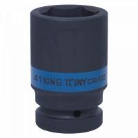 Головка торцевая ударная глубокая шестигранная 1 41 мм KING TONY 843541M