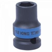 Головка торцевая ударная шестигранная 1/2 12 мм KING TONY 453512M