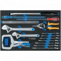 Набор инструментов арматурщика ложемент 24 предмета KING TONY 9-91124MRV