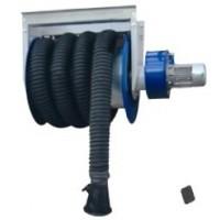 Вытяжная катушка сборе с 7,5 м шлангом (диам.75мм), вентилятором 0,37кВт, насадкой. Filcar DRWTA-75/7.5-COMP