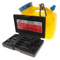 JTC-4539 Емкость для заправки маслом АКПП с набором адаптеров (8 шт.)